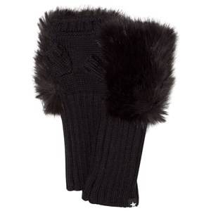 Image of Molo Unisex Gloves and mittens Black Kia Mittens Black