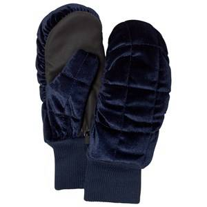 Image of Molo Unisex Gloves and mittens Black Morgan Mittens Total Eclipse