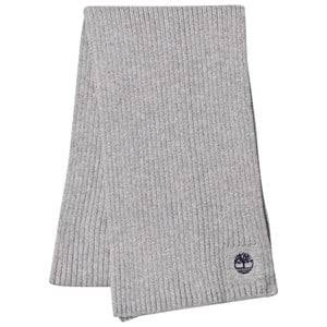 Timberland Boys Scarves Grey Grey Branded Knit Scarf