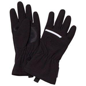 Image of Reima Unisex Gloves and mittens Black Eriste Gloves Black