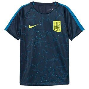 NIKE Boys Sporting replica Navy Nike Dry Neymar Squad Jersey