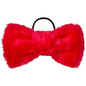 BANG BANG Copenhagen Girls Hair accessories Red Red Furry Hair Bow