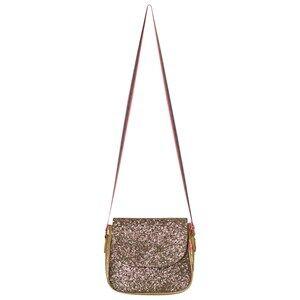Le Big Girls Bags Gold Gold Glitter Shoulder Bag