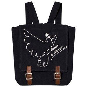 Emile et Ida Boys Bags Black Backpack Dream Orage
