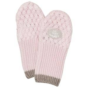 Lillelam Unisex Gloves and mittens Pink Merino Wool Mittens Basic Pink