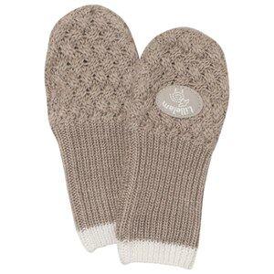 Lillelam Unisex Gloves and mittens Beige Merino Wool Mittens Basic Beige
