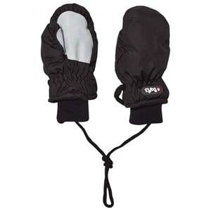 Barts Unisex Gloves and mittens Black Nylon Mittens Black