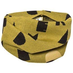 Papu Unisex Scarves Green Wool Tube Scarf Green Dream