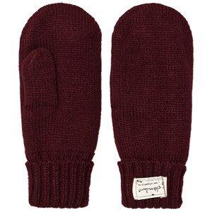 I Dig Denim Unisex Gloves and mittens Red Morris Mittens Burgundy