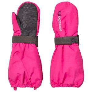 Didriksons Girls Gloves and mittens Pink Biggles Mittens Fuchsia