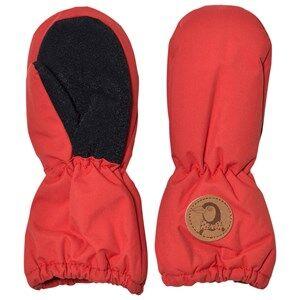 Mini Rodini Unisex Gloves and mittens Red Alaska Glove Red