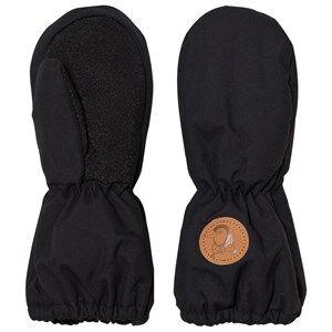 Image of Mini Rodini Unisex Gloves and mittens Black Alaska Glove Black
