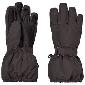 Image of Wheat Unisex Gloves and mittens Black Technical Gloves Charcoal