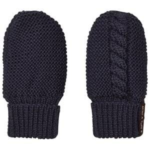 Mini A Ture Unisex Gloves and mittens Navy Celin Mittens Blue Nights
