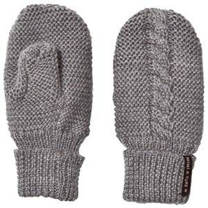 Mini A Ture Unisex Gloves and mittens Grey Celin Mittens Grey