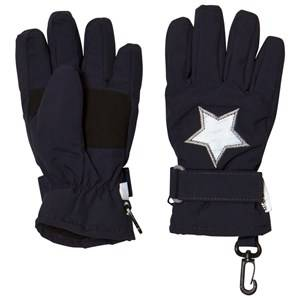 Mini A Ture Unisex Gloves and mittens Navy Celio K Gloves Blue Nights