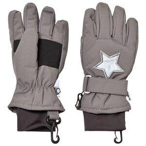 Mini A Ture Unisex Gloves and mittens Grey Celio K Gloves Steel Grey