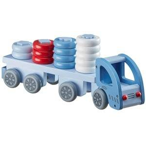 Kids Concept Unisex Puzzles and games Blue Sorting Truck Blue