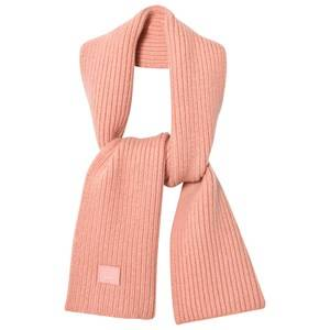 Acne Studios Unisex Scarves Pink Wool Mini Bansy Scarf Pale Pink