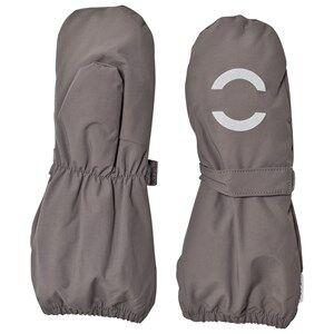 Mikk-Line Unisex Gloves and mittens Grey Nylon Mittens Dark Grey