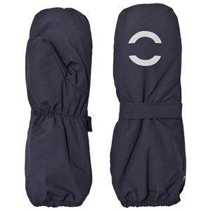 Mikk-Line Unisex Gloves and mittens Blue Nylon Mittens Marine
