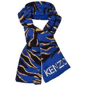 Kenzo Boys Scarves Blue Blue Tiger Scarf