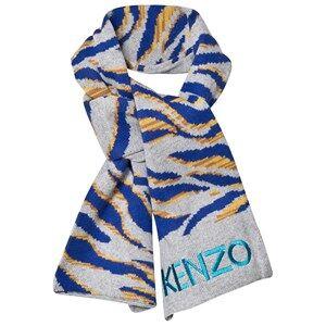 Kenzo Boys Scarves Grey Grey Tiger Scarf