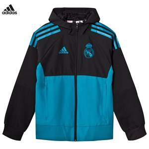 Real Madrid Boys Sporting replica Black Real Madrid ´17 Junior Pre Match Jacket