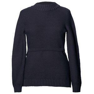 Boob Girls Maternity jumpers & cardigans Blue Ellen Rib Knitted Sweater Midnight Blue