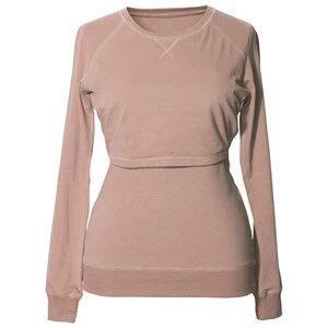 Boob Girls Maternity jumpers & cardigans Beige B·Warmer Sweatshirt Powder Beige