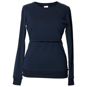 Boob Girls Maternity jumpers & cardigans Blue B·Warmer Sweatshirt