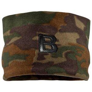 The BRAND Unisex Private Label Hair accessories Green Fleece Headband Camo