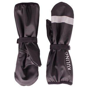 Image of Kuling Unisex Private Label Gloves and mittens Black Kuling Basic, Regnvantar m. fleecefoder, Svart