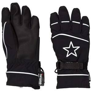 Image of Molo Unisex Gloves and mittens Black Mack Active Gloves Black