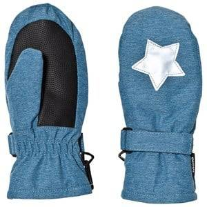 Image of Molo Unisex Gloves and mittens Blue Mitzy Mittens Blue Mountain