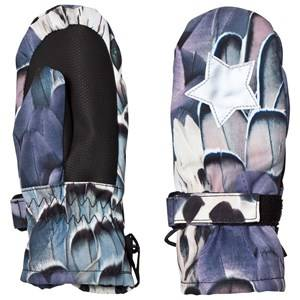 Image of Molo Unisex Gloves and mittens Green Mitzy Mittens Fine Feather