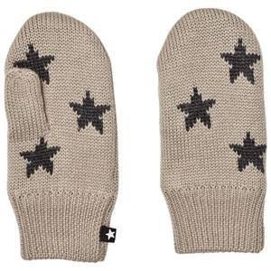 Molo Unisex Gloves and mittens Silver Snowfall Mittens Aluminium