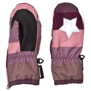 Image of Molo Unisex Gloves and mittens Blue Igor Mittens Huckleberry Stripe