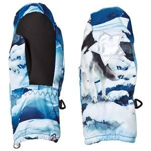 Molo Unisex Gloves and mittens White Igor Mittens Husky