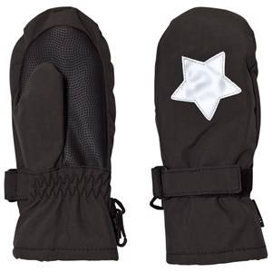 Image of Molo Unisex Gloves and mittens Black Mitzy Mittens Pirate Black