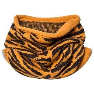 The Bonnie Mob Unisex Scarves Orange Tiger Stripe Snood Honey