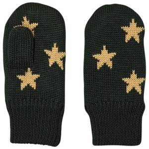 Image of Molo Unisex Gloves and mittens Green Snowfall Mittens Pine Grove
