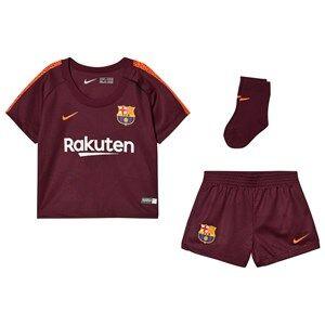 Barcelona FC Unisex Sporting replica Orange 2017/18 FC Infant Barcelona Third Kit