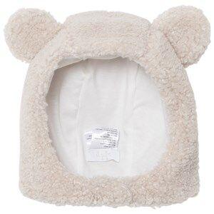 Il Gufo Girls Hair accessories Beige Beige Teddy Fleece Hat