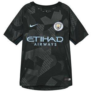 Manchester City FC Unisex Sporting replica Green Manchester City FC Junior Stadium Third Kit T-Shirt