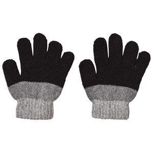 Lindberg Unisex Gloves and mittens Black Brattfors Wool Gloves Black