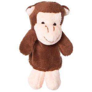 Teddykompaniet Unisex Soft toys Black Monkey Finger Puppet