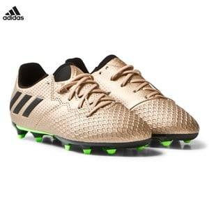 adidas Performance Boys Sport footwear Gold Copper Messi 16.3 Firm Ground Football Boots