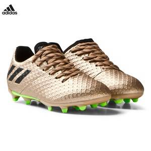 adidas Performance Boys Sport footwear Gold Copper Messi 16.1 Firm Ground Football Boots