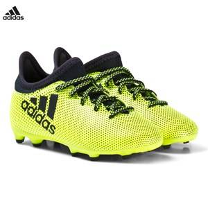 Image of adidas Performance Boys Sport footwear Yellow Yellow X Tango 17.3 Firm Ground Football Boots